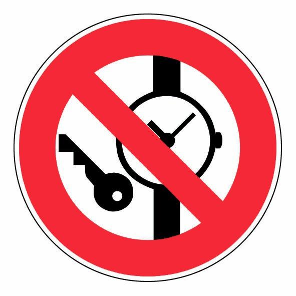 Objet de valeur et metallique interdit panneaux de signalisation et signale - Objet ancien de valeur ...