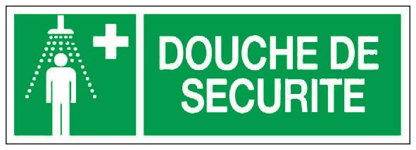 douche de securite panneaux de signalisation et signaletique. Black Bedroom Furniture Sets. Home Design Ideas