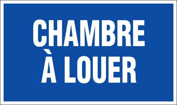 Chambre a louer panneaux de signalisation et signaletique for Chambre a loyer