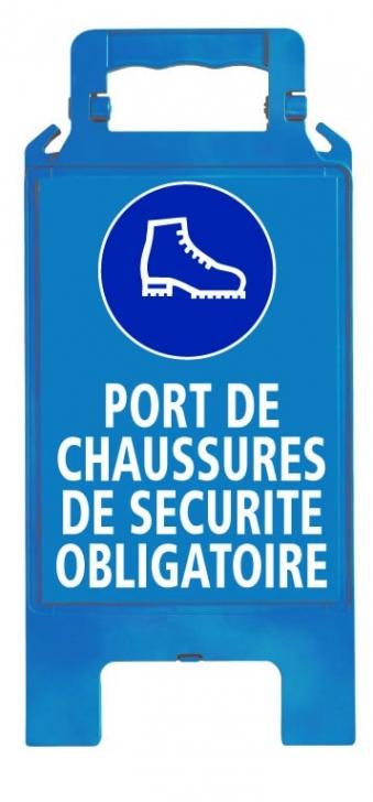 Chevalet signalisation obligation signalisation et equipements de chantier - Port de couche obligatoire ...