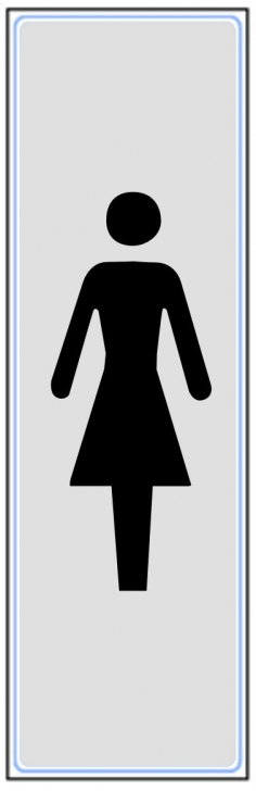 Toilettes Femme Vertical Panneaux De Signalisation Et Signaletique